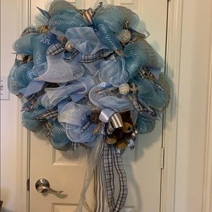 "Other - ⚡️Flash Sale ⚡️ ""It's a Boy"" mesh wreath"